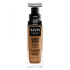 NYX Cosmetics Fond de teint Can't Stop won't Stop - CSWSF10.3: Cinnamon - 30 ml