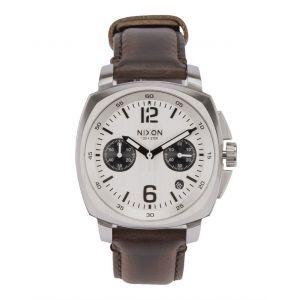 Nixon A1073-1113 - Montre mixte Chrono Leather