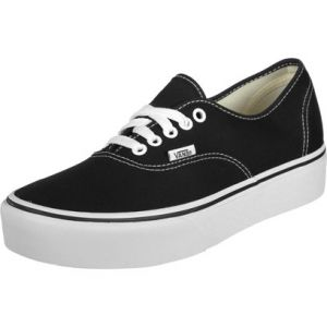 Image de Vans Authentic Platform 2.0, Baskets Femme, Noir (Black Blk), 40 EU