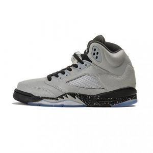 Nike Chaussure Air Jordan 5 Retro pour Enfant plus âgé - Gris - Taille 39