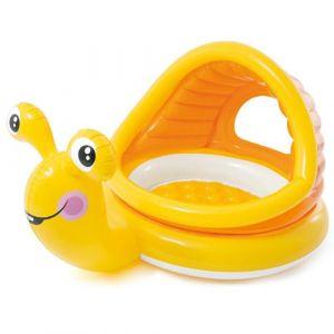 Intex Pataugeoire Gonflable 145 X 102 X 74 Cm Lazy Snail Enfants 1-3 Ans