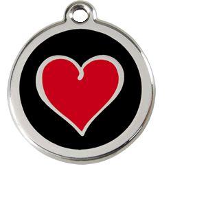 RedDingo Médaille pour chien Coeur 30 mm