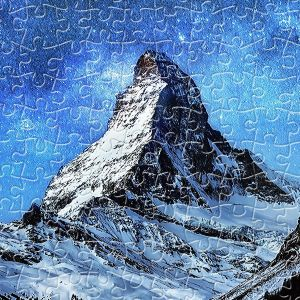 Pintoo Puzzle en Plastique - Light of Zermatt, Switzerland