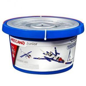 Meccano 6026707 - Baril Junior 100 pièces