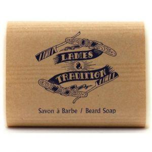 Lames & Tradition Savon shampoing à barbe au lait d'ânesse