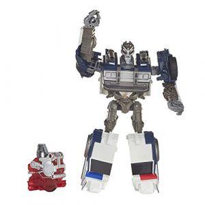 Hasbro Figurine Energon Igniters 17,5 cm - Transformers Bumblebee - Barricade