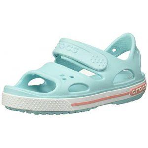 Crocs Crocband Ii Sandal, Sandales Bout Ouvert Mixte Enfant, Bleu (Ice Blue 4o9) 24/25 EU