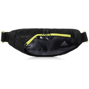 fb9066b936 Adidas Run Sac Banane Mixte Adulte, Black/Shock Yellow, 3 x 29 x