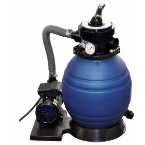 VidaXL Filtre à sable pour piscine 10,2 m³/h 400 W