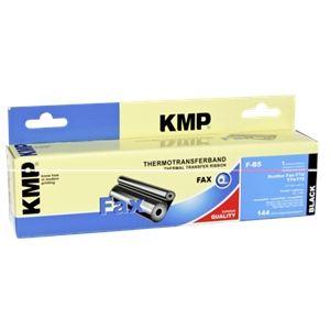 KMP F-B5 - Ruban d'encre noire compatible Brother PC-71RF