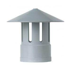 GIRPI 189227 - Chapeau de ventilation (63mm, Gris)