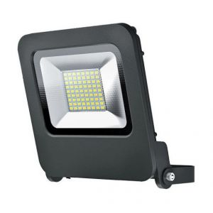 Osram Projecteur Extérieur LED ENDURA FLOOD - Etanche IP65 - 50W - 4000 lumen - Orientable 180° - Blanc chaud 3000K - Gris Anthracite