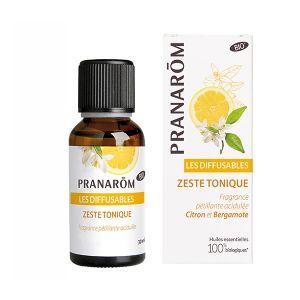 Pranarôm Synergies Pour Diffuseur Zeste Tonique Bio 30ml