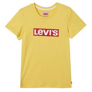 Levi's T-shirt enfant SS TEE LEVI jaune - Taille 10 ans