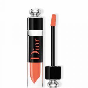 Dior Addict Lacquer Plump 448 Coral Shot - Encre laquée repulpante, couleur longue tenue
