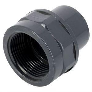Embout taraudé PVC pression mixte MF-F Ø75/63-21/2 - Catégorie Raccord PVC pression
