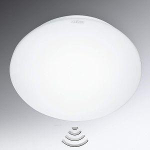 Steinel Plafonnier RS 16 LED avec détecteur de mouvement intégré - Applique murale avec capteur de présence 360° - Lampe d'intérieur à détection, portée 3-8 m