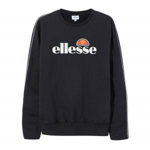 ELLESSE Sweat-shirt Homme Leeti Sweatshirt, Noir Noir - Taille EU S,EU L,EU XL,Unique