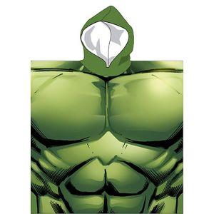 Poncho de bain Hulk (55 x 110 cm)