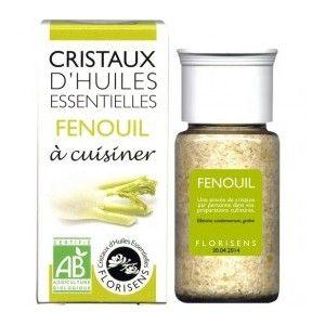 Aromandise Cristaux d'Huiles Essentielles Bio Fenouil 20g