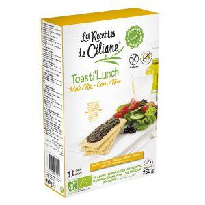 Les Recettes de Céliane Toasts Maïs/Riz 200g