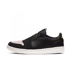 Nike Chaussure Air Jordan 1 Retro Low Slip pour Femme - Noir - Taille 38