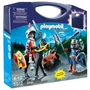 Playmobil 5972 Knights - Valisette chevaliers