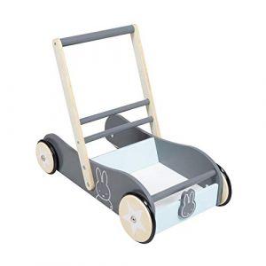 Roba Chariot enfant Miffy lapin, freins bois