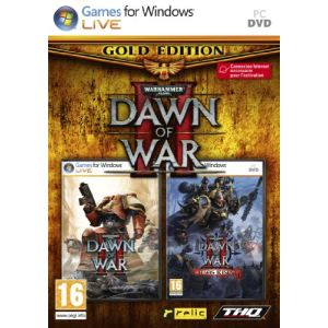 Warhammer 40.000 : Dawn of War II Edition Gold : le jeu + l'extension Chaos Rising [PC]