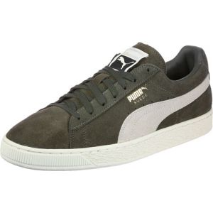 Puma Suede Classic+, Sneakers Basses Mixte Adulte, Vert (Olive Night-Birch), 44 EU