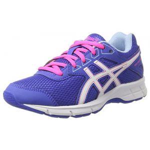 Asics Gel-Galaxy 9 GS, Chaussures de Running Compétition Mixte Enfant, Violet (Blue Purple/White/Airy Blue), 40 EU