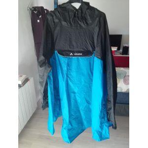 Vaude Valero Poncho Homme Bleu FR M (Taille Fabricant M)