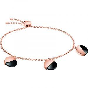 Calvin Klein Boucles d'Oreilles Spicy Rose & Noir