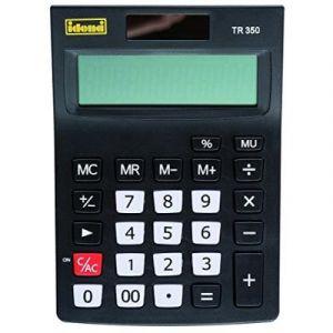 Idena TR 350 505283-calculatrice de bureau 12 chiffres, couleurs assorties