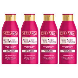 Jacques Dessange Réveil' Color Rose Précieuse - Shampooing couleur réparateur
