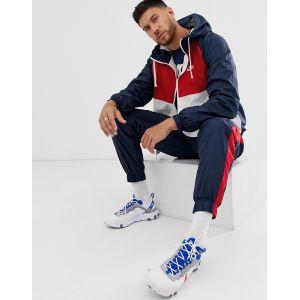 Nike Sportswear ensemble jogging Hommes bleu rouge blanc T. M