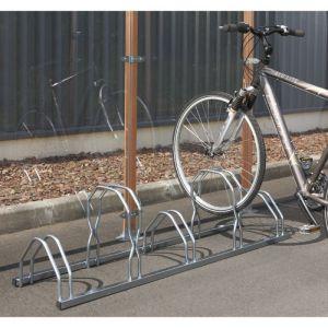 Mottez Râtelier range 5 vélos sur 2 niveaux B129V
