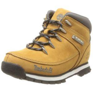 Timberland Euro Sprint, garçons-Boots garçon-Blé, 21 EU (5 US)