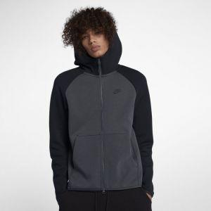 Nike Sweatà capuche entièrement zippé Sportswear Tech Fleece pour Homme - Noir - Taille XL - Homme