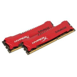 Kingston HX318C9SRK2/16 - Barrette mémoire HyperX Savage 16 Go (2 x 8 Go) DDR3 1866 MHz DIMM 240 broches