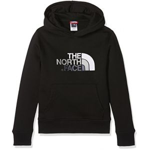 The North Face Sweatshirts Drew Peak Pullover Hoodie - Tnf Black / Mid Grey - Taille S