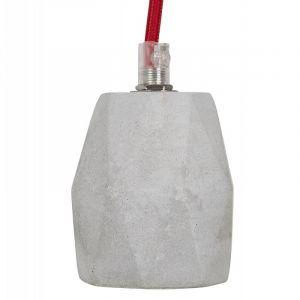 """Kokoon Design Douille pour Lampe Suspension """"Bruut"""" 150cm Gris"""