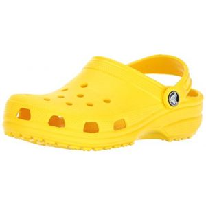 Crocs Classic Clog Kids, Sabots Mixte Enfant, Jaune (Lemon), 25-26 EU