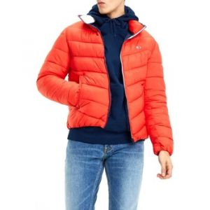 Tommy Jeans TJM Essential Puffer Jacket Blouson, Rouge (Flame Scarlet 667), X-Large (Taille Fabricant: W34/L30) Homme
