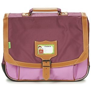 Tann's Cartable Iconic 2 Compartiments 38 cm + Trousse Violet