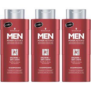Schwarzkopf MEN - Shampooing ANTI-CHUTE - ARGININE+ pour Homme 250 ml