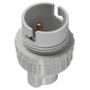 Outifrance Douille d'ampoule étiquette cavalier douille nylon pour ampoules à baïonnette b22