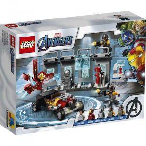 Lego Marvel Super Heroes - 76167 Marvel Avengers - L'armurerie D'Iron Man