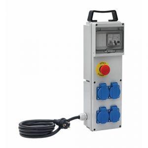 Brennenstuhl Coffret de chantier boitier distribution BD 4M/16/AU 2M H07RN-F 3G2,5
