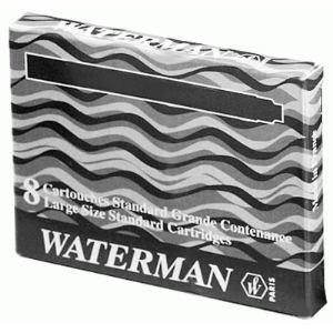 Waterman Etui de 8 cartouches UGC longues